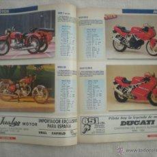 Coches y Motocicletas: SOLO MOTO_Nº 6_CATALOGO 92_350 MODELOS_EJEMPLAR FUERA DE SERIE_AÑO 1992. Lote 39781984