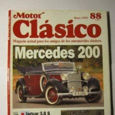 Coches y Motocicletas: REVISTA MOTOR CLASICO Nº88 MAYO1995 MERCEDES 220 INDIAN. Lote 39784253