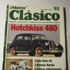 Coches y Motocicletas: REVISTA MOTOR CLASICO Nº95 DICIEMBRE 1995 BMW R50 PORSCHE 356 RICARDO QUINTANILLA. Lote 39793360