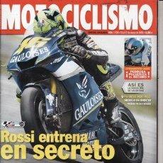 Coches y Motocicletas: REVISTA MOTOCICLISMO Nº 1934 AÑO 2005. PRUEBA: SUZUKI GSX R 1000. BMW K 1200 R. TRIUMPH DAYTONA 650.. Lote 39835143