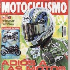 Coches y Motocicletas: REVISTA MOTOCICLISMO Nº 1957 AÑO 2005. PRUEBA: CSR 125 CUSTOM. COMP: HYOSUNG COMET GT 650 S. Lote 39835935
