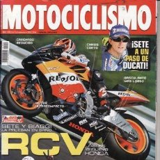 Coches y Motocicletas: REVISTA MOTOCICLISMO Nº 1959 AÑO 2005. PRUEBA: YAMAHA R1. COMP: DAELIN ROADWIM 125 Y YAMAHA YBR 125.. Lote 39836030