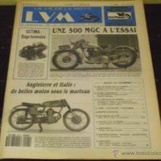 Coches y Motocicletas: LA VIE DE LA MOTO Nº 91/01 - PRUEBA MGC 500 1930 - MOTOS ITALIANAS-INGLESAS-. Lote 39929637