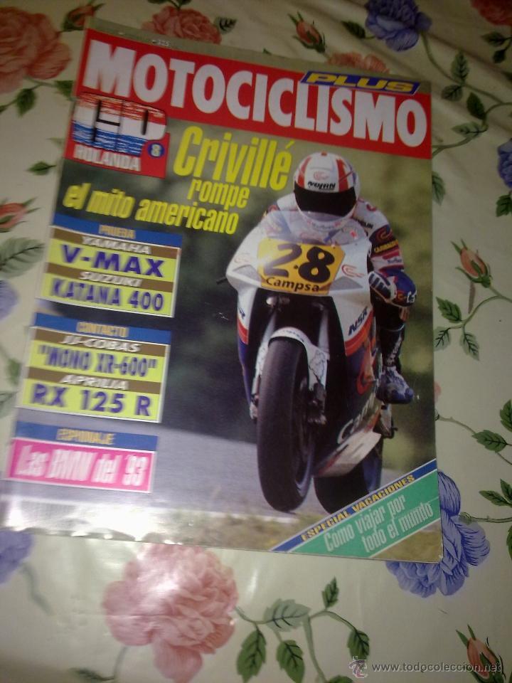 MOTOCICLISMO Nº 1271 JULIO 92 CRIVILLÉ ROMPE EL MITO AMERICANO (Coches y Motocicletas - Revistas de Motos y Motocicletas)