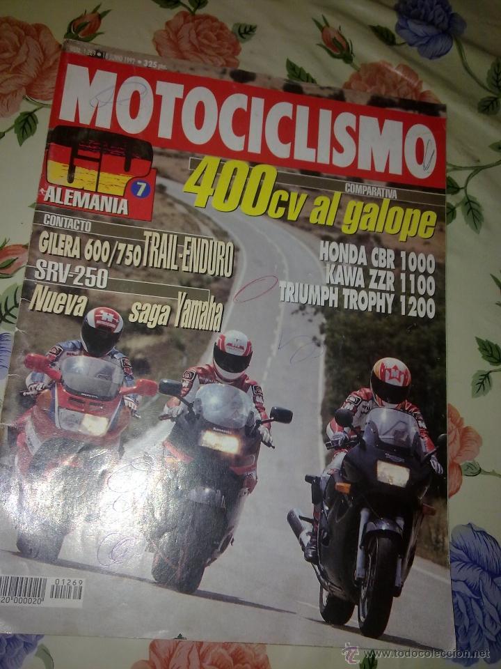 MOTOCICLISMO Nº 1269 JUN 92. 400 CV AL GALOPE COMPARATIVA (Coches y Motocicletas - Revistas de Motos y Motocicletas)