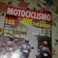 Coches y Motocicletas: MOTOCICLISMO Nº 1269 JUN 92. 400 CV AL GALOPE COMPARATIVA . Lote 39931063