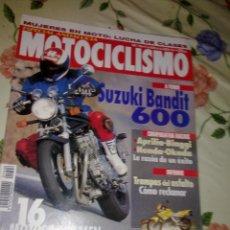Coches y Motocicletas: MOTOCICLISMO Nº 1406 MUJERES EN MOTO. LUCHA DE CLASES ESPECIAL ANDALUCIA . SUZUKI BANDIT 600. Lote 39931113