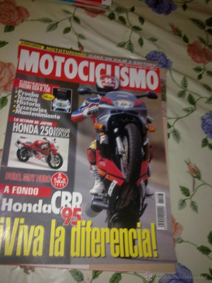 MOTOCICLISMO Nº 1403 ENERO 95 . ESPECIAL SUZUKI GSX-R 750. PRUEBA. TÉCNICA.HISTORIA. ACCESORIO MANTE (Coches y Motocicletas - Revistas de Motos y Motocicletas)