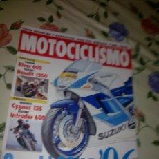 Coches y Motocicletas: MOTOCICLISMO Nº 1408 FEB. 95 CONTACTO CAGIVA RIVER 600 SUZUKI BANDIT 1200 . PRUEBA YAMAHA CYGNUS 125. Lote 39931367