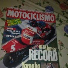 Coches y Motocicletas: MOTOCICLISMO Nº 1409 FEB 1995. MOTO DEL AÑO KAWASAKI NINJA 900. PRUEBAS , YAMAHA FZR 600 R Y SUPERSP. Lote 39931442