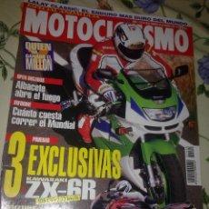 Coches y Motocicletas: MOTOCICLISMO Nº 1410 FEBR. 95 . 3 EXCLUSIVAS KAWASAKI ZX-6R. SUZUKI GSX-R. KAWASAKI KLR 650. Lote 39931506