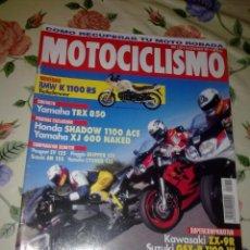 Coches y Motocicletas: MOTOCICLISMO Nº 1412 MAR 95. NOVEDADES BMW K 1100 RS TELELEVER. Lote 39931610