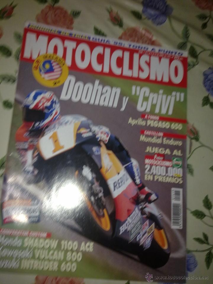 MOTOCICLISMO Nº 1415 ABRIL 95. HONDA SHADOW 1100 ACE. KAWASAKI VULCAN 800. SUZUKI INTRUDER 600 (Coches y Motocicletas - Revistas de Motos y Motocicletas)