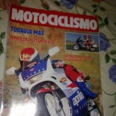 Coches y Motocicletas: MOTOCICLISMO Nº 1160 17 MAY 90. A FONDO HONDA ST 1100 PANEUROPEAN. NOVEDADES VESPA COSA. YAMAHA JOG.. Lote 39933103