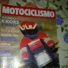 Coches y Motocicletas: MOTOCICLISMO Nº 1154 ABR. 90. A FONDO K 100RS 16 V. BIMOTA TES. REVOLUCION EN LA MOTO DE CALLE.. Lote 39933151