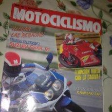 Coches y Motocicletas: MOTOCICLISMO Nº 1184 NOV 90 LAWSON VUELLA CON LA GAGIVA. SURBIKES EN BANCO KAWASAKI ZXR. PRUEBA EN M. Lote 39933314