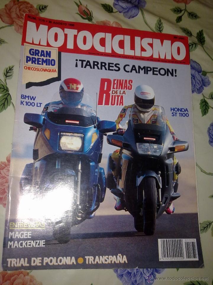 MOTOCICLISMO Nº 1175 AGOSTO 90 REINAS DE LA RUTA BM2 K100 LT. HONDA ST 1100 (Coches y Motocicletas - Revistas de Motos y Motocicletas)