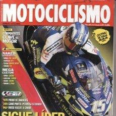 Coches y Motocicletas: REVISTA MOTOCICLISMO Nº 1894 AÑO 2004. PRU: BMW K 1200 S. HYOSUNG COMENT 650. COMP: HONDA CBF 600,. Lote 39947833
