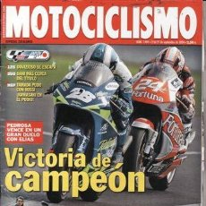 Coches y Motocicletas: REVISTA MOTOCICLISMO Nº 1909 AÑO 2004. PRUEBA: BMW K 1200 R. . Lote 39948854