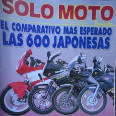 Coches y Motocicletas: REVISTA SOLO MOTO 30 NUMERO 75 MAYO 1989. Lote 71872014