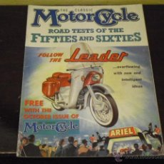 Coches y Motocicletas: THE CLASSIC M OTOR CYCLE - ROAD TEST OF THE FIFTIES AND SIXTIES -FACSIMIL-. Lote 40152860