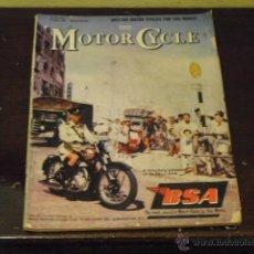 Coches y Motocicletas: THE MOTOR CYCLE VOL.96 Nº 2769 AÑO 1956 - ESPECIAL MOTOCICLETAS BRITANICAS -. Lote 40243743
