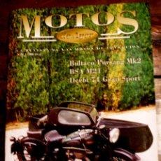 Coches y Motocicletas: REVISTA MOTOS DE AYER Nº 30. Lote 148569477