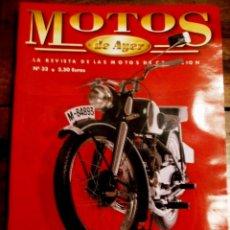 Coches y Motocicletas: REVISTA MOTOS DE AYER Nº 32. Lote 46772938