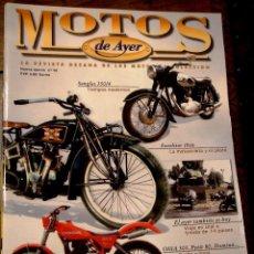 Coches y Motocicletas: REVISTA MOTOS DE AYER Nº 48. Lote 96178512
