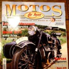 Coches y Motocicletas: REVISTA MOTOS DE AYER Nº 61. Lote 96178427