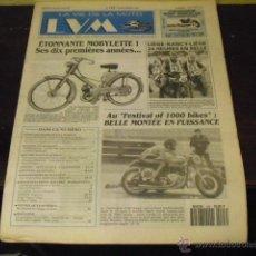 Coches y Motocicletas: LA VIE DE LA MOTO Nº 123 - LOS 10 PRIMEROS AÑOS DE MOBYLETTE - BRANDS HATCH . Lote 40292741
