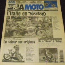 Coches y Motocicletas: LA VIE DE LA MOTO Nº 169 - ZÜNDAPP 2 T- 1947 - 1963 - L'ITALIE EN NORTON -. Lote 40344546