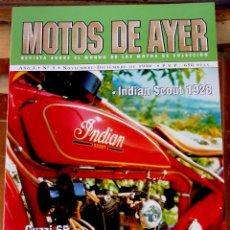 Coches y Motocicletas: REVISTA MOTOS DE AYER Nº 5. Lote 57240639