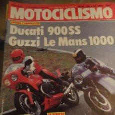 Coches y Motocicletas: REVISTA MOTOS MOTOCICLISMO NUMERO 798 1983 DUCATI GUZZI SIDE CROSS YAMAHA. Lote 40490639