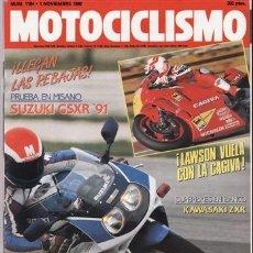 Coches y Motocicletas - REVISTA MOTOCICLISMO Nº 1184 AÑO 1990. PRUEBA: SUZUKI GSXR 750 (91). YAMAHA SR 250. MOTO 50. - 40632796
