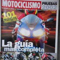 Coches y Motocicletas: CATALOGO REVISTA MOTOCICLISMO PRUEBAS 2002 NUMERO 13. Lote 40703901