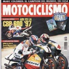 Coches y Motocicletas: REVISTA MOTOCICLISMO Nº 1488 AÑO 1996. COMPARATIVA: BMW R 850 R, DUCATI MONSTER 900 Y YAMAHA TDM 850. Lote 40809024