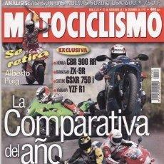 Coches y Motocicletas: REVISTA MOTOCICLISMO Nº 1533 AÑO 1997. COMPARATIVA: BMW K 1200 RS Y BMW K 1100 RS. . Lote 40967706