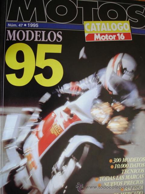CATALOGO MOTOS MOTOR 16.1995.130 PG (Coches y Motocicletas - Revistas de Motos y Motocicletas)
