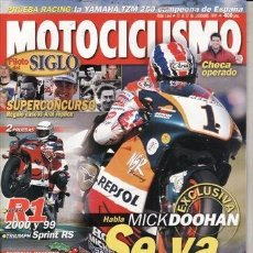 Coches y Motocicletas: REVISTA MOTOCICLISMO Nº 1661 AÑO 1999. PRUEBA: TRIUMPH SPRINT RS 955I. COMPARATIVA: YAMAHA YZF R1 (0. Lote 40987292