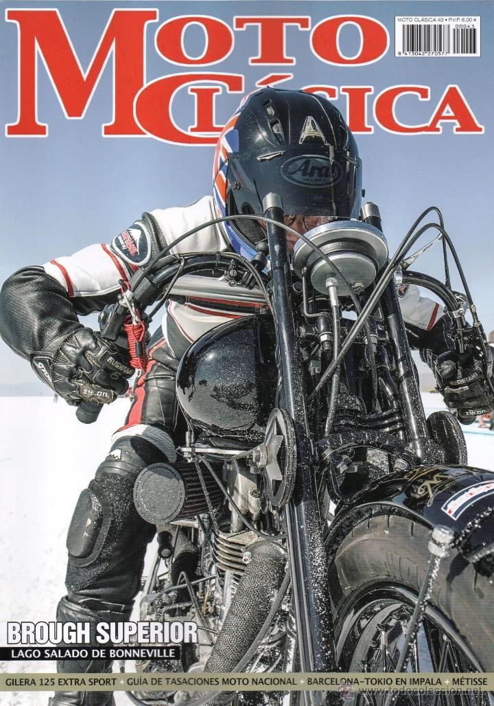 MOTO CLASICA N. 43 (NUEVA) (Coches y Motocicletas - Revistas de Motos y Motocicletas)