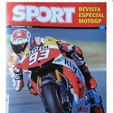 Coches y Motocicletas: MARC MARQUEZ CAMPEON DE RECORD - DIARIO SPORT - MOTO GP - NUEVA DE QUIOSCO. Lote 41051870