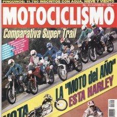 Coches y Motocicletas: REVISTA MOTOCICLISMO Nº 1352 AÑO 1994. COMP: BMW K 1100 RS Y TRIUMPH TROPHY 1200. APRILIA PEGASO 650. Lote 41265422