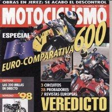 Coches y Motocicletas: REVISTA MOTOCICLISMO Nº 1516 AÑO 1997. PRU: HONDA X4. BMW 1100 R.COMP: APRILIA PEGASO 650, BMW F 650. Lote 41265974