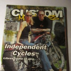 Coches y Motocicletas: REVISTA CUSTOM MACHINES Nº69 AÑO 2003 HARLEY CUSTOM CHOPPER. Lote 39772148