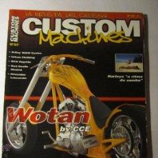 Coches y Motocicletas: REVISTA CUSTOM MACHINES Nº67 AÑO 2003 HARLEY CUSTOM CHOPPER. Lote 39772158