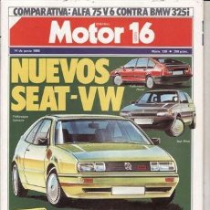 Coches y Motocicletas: REVISTA MOTOR 16 Nº 138 AÑO 1986. PRUEBA: RANGE ROVER TD. COMPARATIVA: ALFA 75 V6 Y BMW 325I. . Lote 41567890