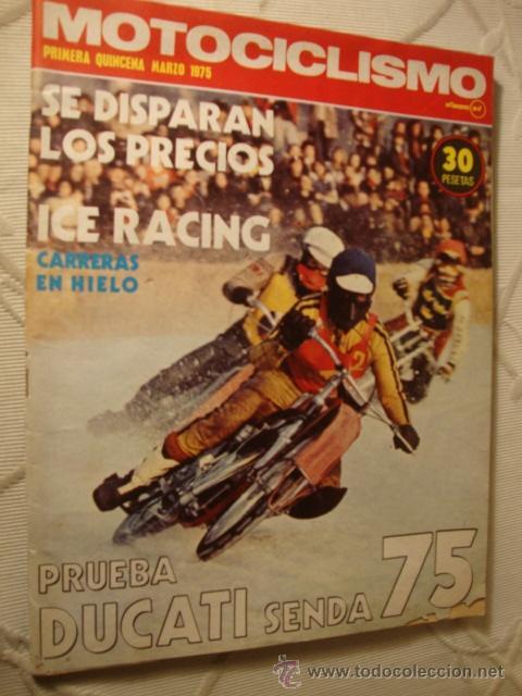 REVISTA MOTO MOTOS MOTOCICLISMO Nº AÑO EN PORTADA (Coches y Motocicletas - Revistas de Motos y Motocicletas)