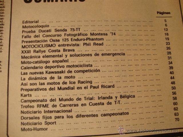 Coches y Motocicletas: REVISTA MOTO MOTOS MOTOCICLISMO Nº AÑO EN PORTADA - Foto 3 - 41692942