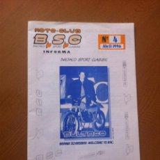 Coches y Motocicletas: REVISTA MOTO-CLUB BULTACO SPORT CLASSIC (1996). Lote 42173306